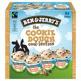 Ben & Jerry's The Cookie Dough Cool-Lection 4 x 100 ml