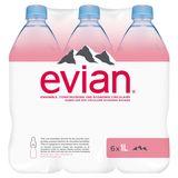Evian Natuurlijk Mineraalwater 6 x 1 L