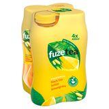 Fuze Tea Black Tea Lemon Lemongrass 4 x 400 ml