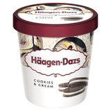 Häagen-Dazs Crème glacée Cookies & Cream Pint 460ml