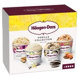 Häagen-Dazs Crème glacée Vanilla Collection Mpk 4x95ml