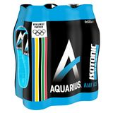 Aquarius Isotonic Blue Ice Pet 6 x 0.50 L