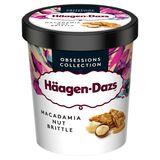 Häagen-Dazs Crème glacée Macadamia Nut Brittle Pint 460ml