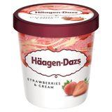 Häagen-Dazs Strawberries & Cream 400 g