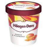 Häagen-Dazs Crème glacée Mango Raspberry Pint 460ml
