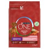 PURINA ONE Croquette Chien Medium / Maxi >10 kg Sensitive 2.5 kg