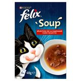 FELIX Alimentation Chat Soup Sélection de la Campagne 6 x 48 g