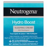 Neutrogena Hydro Boost Sleeping Cream Alle Huidtypen 50 ml