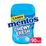 Mentos Chewy & Fresh Peppermint 90 Pièces 99 g