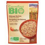 Carrefour Bio Mengeling van Quinoa Linzen, Tomaten 250 g