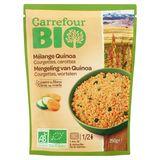 Carrefour Bio Mengeling van Quinoa Courgettes, Wortelen 250 g