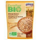 Carrefour Bio Mengeling van Quinoa Granen en Linzen 250 g