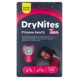 DryNites Pyjama Pants Teen Girl 8-15 Age 27-57 kg Jumbo Pack 13 Pièces