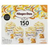 Häagen-Dazs Crème glacée Gelato Caramel Swirl Minicups 95ml*4