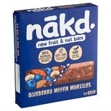 Nākd Blueberry Muffin 4 x 35 g