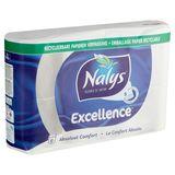 Nalys Excellence 5 Épaisseurs Douces papier toilette 8 Rouleaux