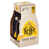 Leffe Belgisch Abdijbier Blond Flessen 4 x 33 cl