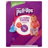 Huggies Pull-Ups Training Pants 2-4 Ans 18-23 kg 15 Pièces