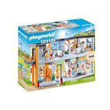 Playmobil City Life - 70190 - Hôpital aménagé 4+