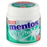 Mentos Chewing Gum White Green Mint Sugar Free 75 Pièces 112.5 g