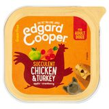 Edgard & Cooper Succulent Chicken & Turkey Apple Cranberry 100 g