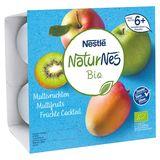 Nestlé NaturNes Bio Multivruchten vanaf 6+ Maanden 4 x 90 g