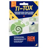 Riem Ti-Tox Sticker Vitre Anti-Mouches 4 x 175 mg 3+1 Gratis