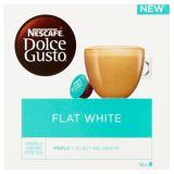 NESCAFÉ® Dolce Gusto® Flat White Koffie 16 Capsules per Doos