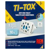 Riem Ti-Tox Tablette Anti-Moustiques Appareil 10 Tablettes