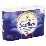 Scottex Toiletpapier Kussenzacht 6 Luxe Rollen
