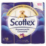 Scottex Toiletpapier Kussenzacht 18 Luxe Rollen