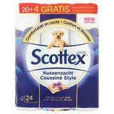 Scottex Premium Kussenzacht Style 20+4 Stuks