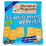Michel et Augustin 33 Petits Beurre apéritif au gorgonzola 100g