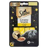 Sheba Creamy Snacks au Poulet 4 x 12 g