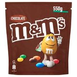 M&M's Chocolade Pouch 550 g