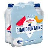 CHAUDFONTAINE WATERMELON MELON STILL NO SUGAR PET 500ML x 6