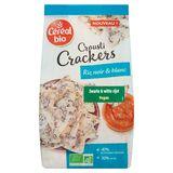 Céréal Bio Crousti Crackers Riz Noir & Blanc 80 g