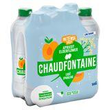 Chaudfontaine Intense Apricot Elderflower Sparkling 500Ml X 6