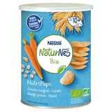 Nestlé NaturNes Bio NutriPops Gepofte Granen - Wortel vanaf 10M+ 35 g