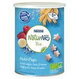 Nestlé NaturNes Bio NutriPops Gepofte Granen - Banaan & Framboos vanaf 8+ Maanden 35 g
