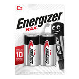 Energizer Max Piles Alcalines C 2 pièces
