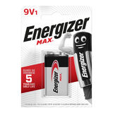 Energizer Max 1 Pile Alcaline 9V