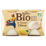 La Laitière Bio le Yaourt Citron 4 x 125 g