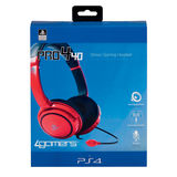 4gamers Gaming Headset PRO 4-40 PS4