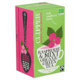 Clipper Raspberry & Mint Organic Green Tea 20 Zakjes 35 g