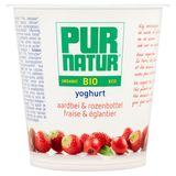 Pur Natur Bio Yoghurt Fraise & Églantier 150 g