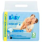 Carrefour Baby Ultra Dry 5 Junior 11-25 kg Economy Pack 84 Couches
