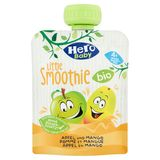 Hero Baby Bio Little Smoothie Pomme et Mangue 4+ Mois 90 g