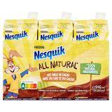 Nesquik Met Melk en Cacao 3 x 180 ml
