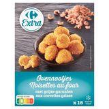 Carrefour Extra Noisettes au Four aux Crevettes Grises 16 x 16 g